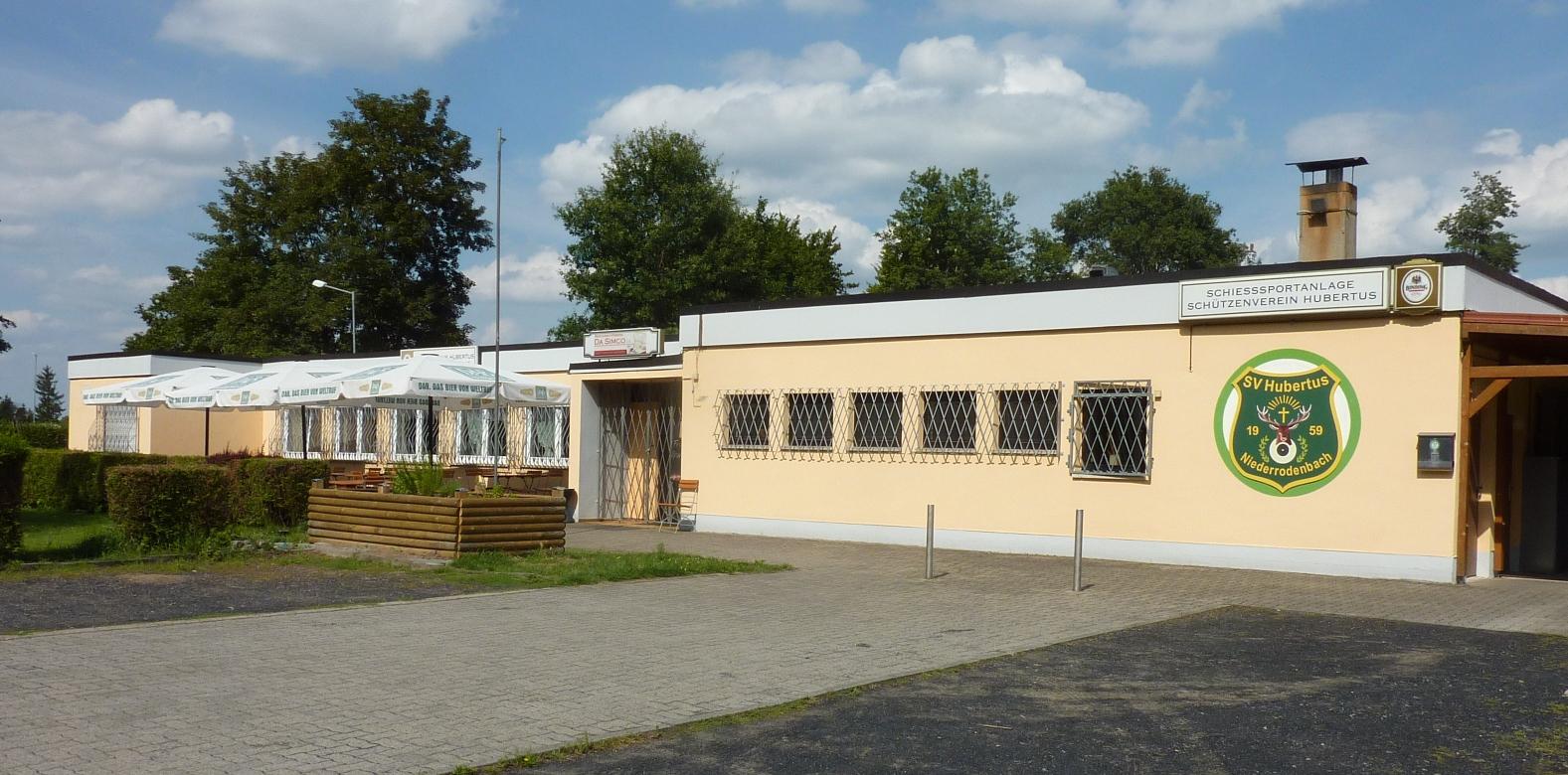Vereinsheim des Schützenvereins Huberts Niederrodenbach